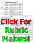 Social studies rubric makers for Rubric maker template